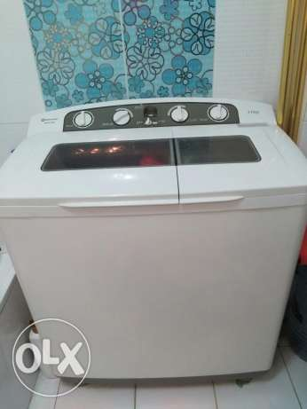 Washing machine white point