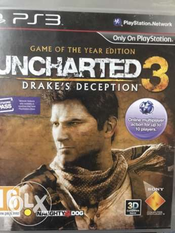 uncharted for PS3 used الوراق -  1
