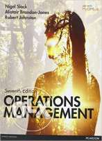Operations Management Book - Pearson