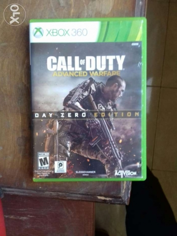 Halo4 or call of duty advanced warfare for sell xbox360 (ntsc)