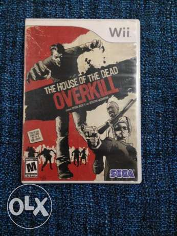 Wii CD, The House Of The Dead Overkill (original)