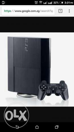 Ps 3 like new (not used before)