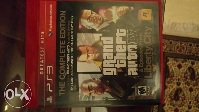 Gta the complete edition ps3