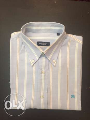 Burberry shirt original from USA size large
