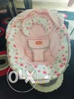 Junior baby chair with vibration and music