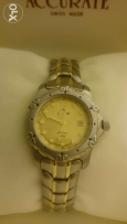 """ACCURATE"" watch for women Swiss made model AlQ588T"