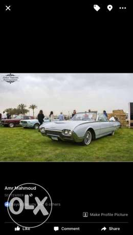 Ford 1962 ford thunderbird roadster