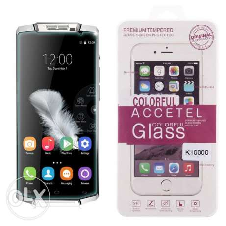 للبيع Genuine Premium Tempered Glass Screen Protector for Oukitel K100 الزيتون -  3