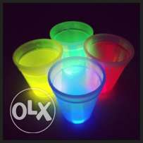 12 Glow Cups