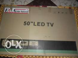 شاشه 50 بوصه LED ماركة EGA Inter National