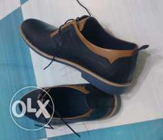 Classic Navy Blue Shoes