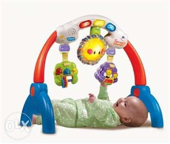 VTech Light-Up Rhyme Gym