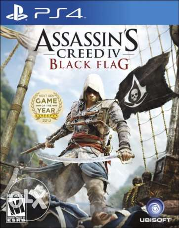 Assassin's Creed IV: Black Flag for Playstation 4 - Open Region