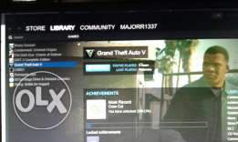 Gta V Steam account