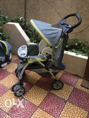 Stroller and Car seat SET الزمالك -  1