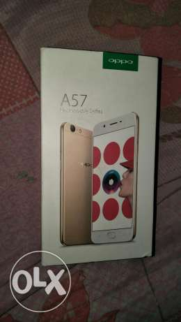 Oppo A57 like new 3750 LE