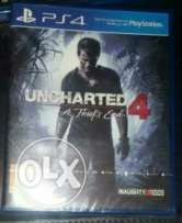Uncharted4 PS4 for sale or trade