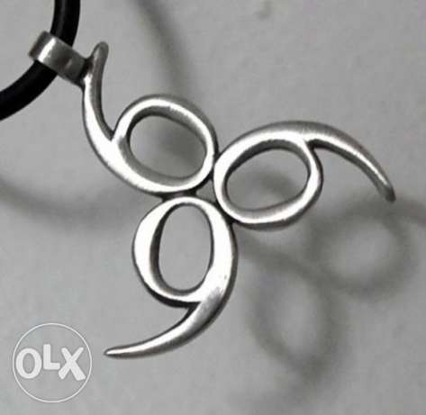 Number of the Beast/Trinity Leather Stainless Steel Necklace