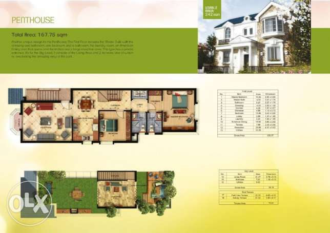 """Pent house For Sale in '' Mountain View - Chillout Park"""""""