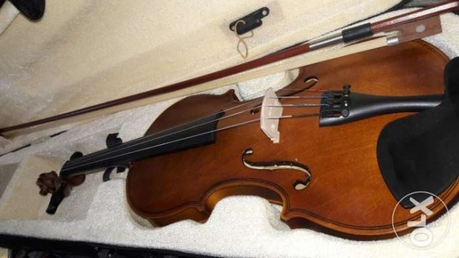 New violin for sale 4/4 for all accesories