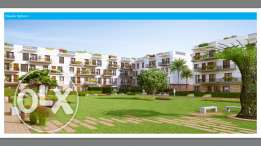 Sodic West Courtyard Apartment 209 first floor With installments