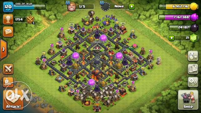 Town hall lvl 10 for sell