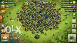 Clash of clans town home level 9