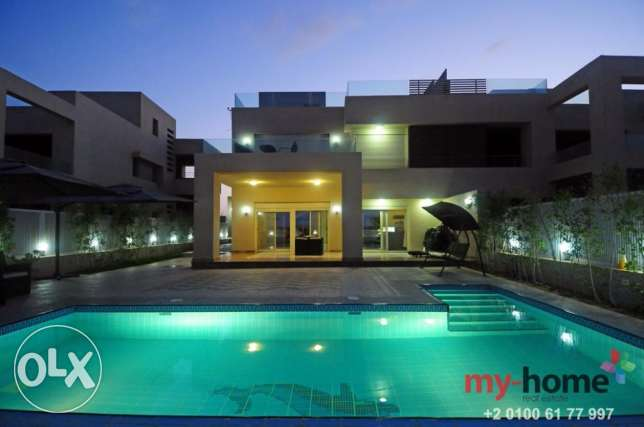 (Villa for sale at hacienda bay north coast ) فيلا للبيع في هاسيندا