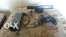 Kinect 360 + Xbox 360 Controller + Power Adapter