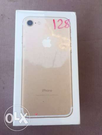 new iPhone 7 -128 GB