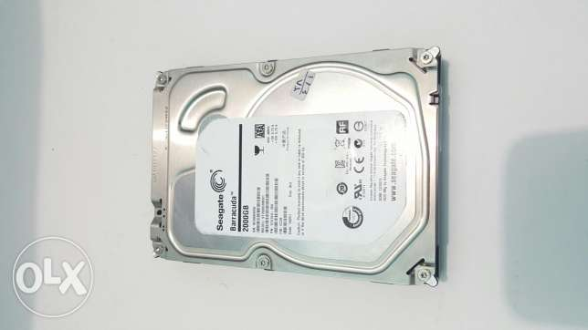 Seagate Barracuda 2Tera like new