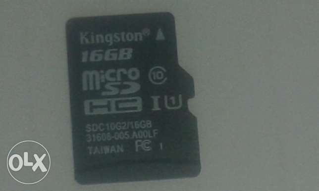 SD crad 16GB Kingston