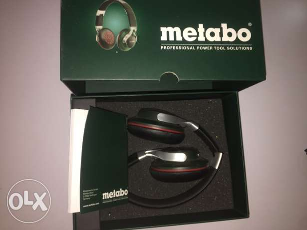 metabo headset bluetooth & wire with powerful battery