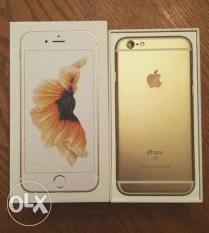 Iphone 6s Gold 64 GB Zero Condition