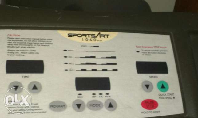 Treadmill Sports Art 1060 HR Taiwan جهاز للجري