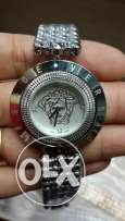 Versace Silver Watch For Women