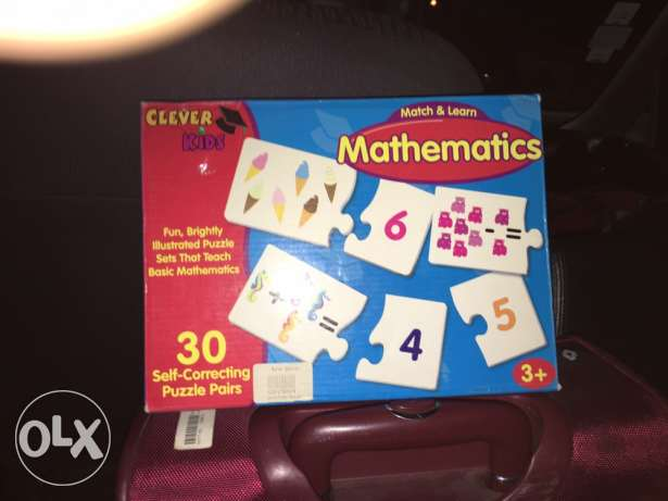 puzzle game to teach math