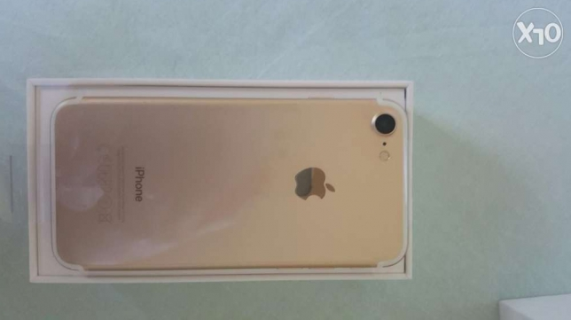 Iphone 7 gold 32 giga ستانلي -  1