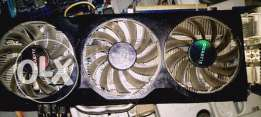 Gigabyte Geforce GTX 570 Over Clock with 3 fans
