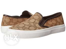Coach woman signature slip on shoes