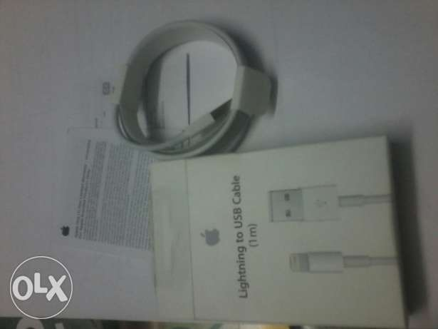 Iphone cable new and adapter