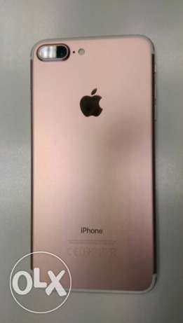 I phone 7 plus rose gold 128 GB