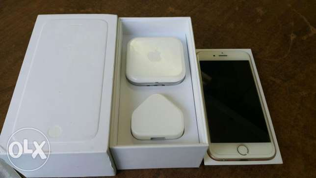 I phone 6 16 gb zeroo gold
