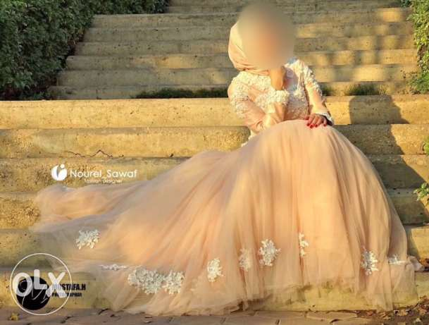 Engagement dress by Noural-ElSawaf designer 6500 from 9000 with gifts مدينة نصر -  1