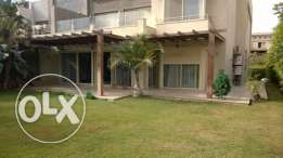 Apartment for rent in palm hills Bamboo Ground floor 6 October City