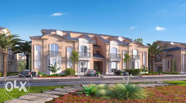 Town house270m corner at layan-تاون هاوس كورنر270م بكمبوند ليان للبيع