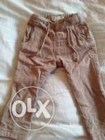 Zara pants for boys from 1 year to 2 year