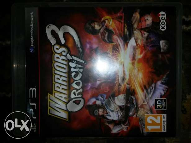 لعبه warrior orochi ps3