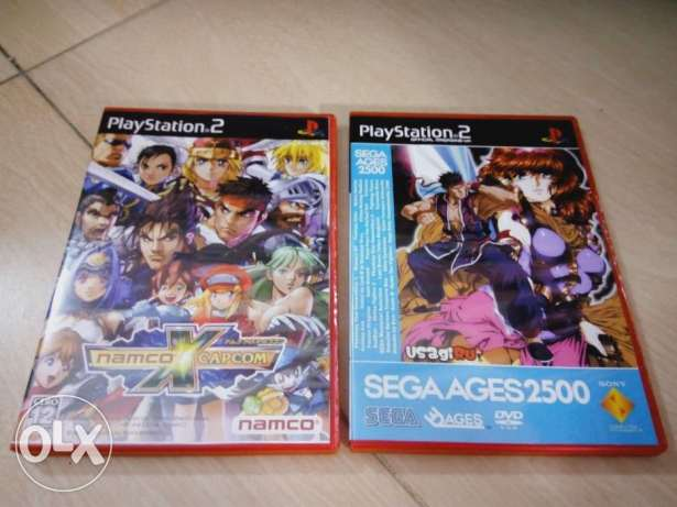 Sega Ages 2500 Collections) & (Namco Vs Capcom)_For PS2)