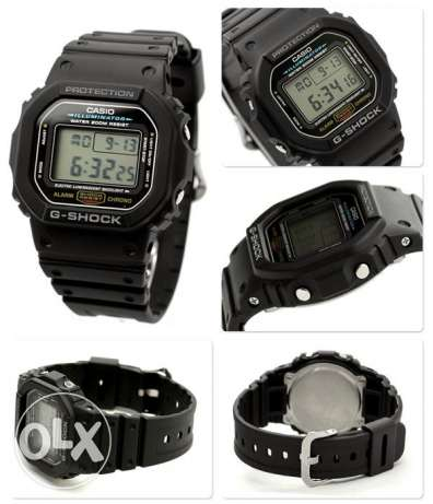 Casio DW-5600E-1VDF G-Shock Rare Watch New وسط القاهرة -  5